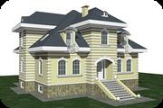 Отделка фасадов коттеджей и домов декоративной штукатуркой