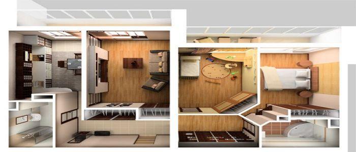 Перепланировка квартиры в Хрущёвке