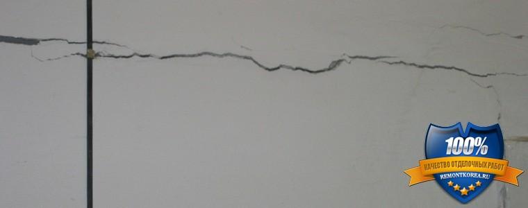 Причина трещин на плитке