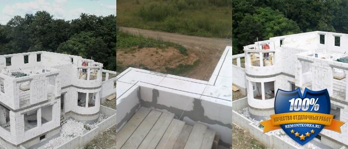 Строительство из газабетонных блоков