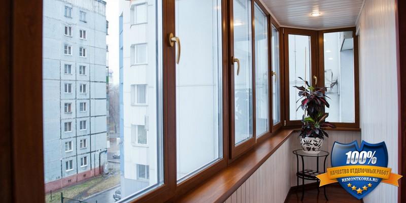 Профессиональный ремонт балконов и лоджий в городе Владивосток