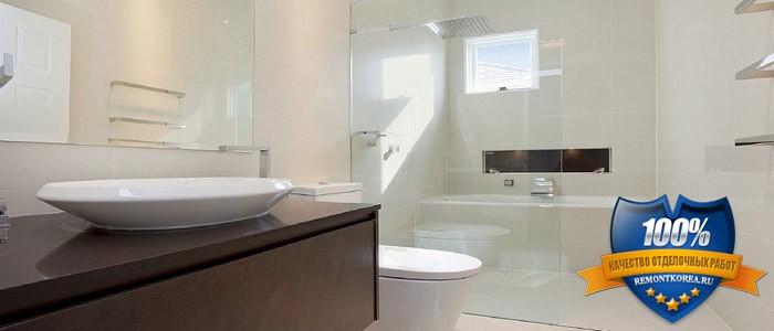 Ремонт ванных комнат и санузла корейцами мастерами во Владивостоке