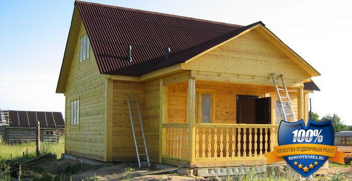 Строительство дачных домов под ключ во Владивостоке
