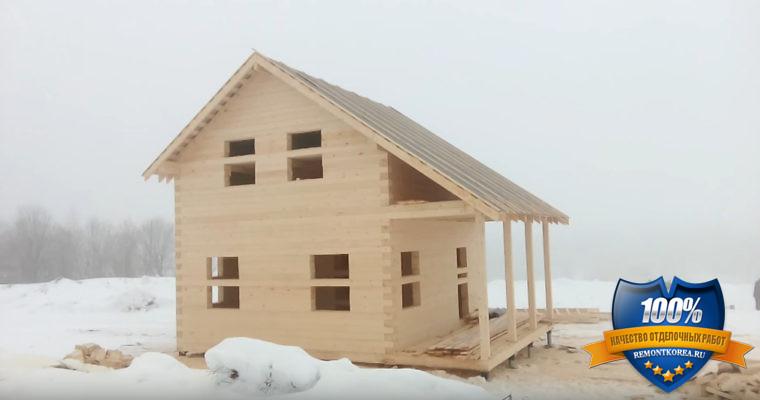 Брусовые дома 6х6 - это небольшие, но уютные загородные постройки в пригороде Владивостока, которые позволить себе может каждый.