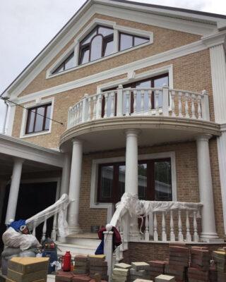 Строительство коттеджа из кирпича в пригороде Владивостока
