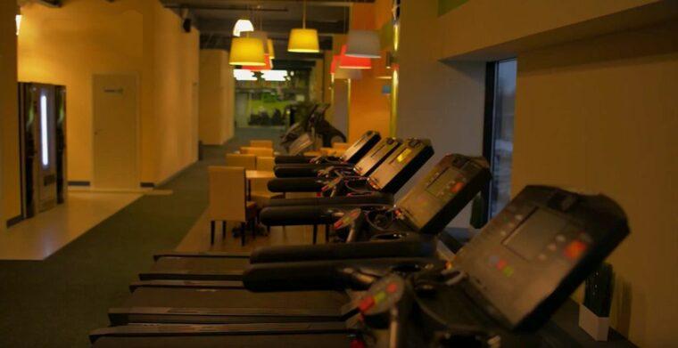 Отделка зала фитнес клуба во Владивостоке