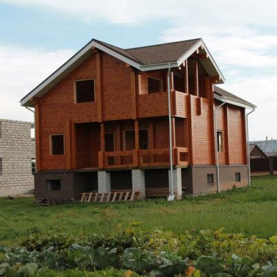 Малоэтажное строительство дома из бруса во Владивостоке
