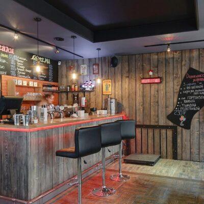 Отделка кафе в городе Владивостоке
