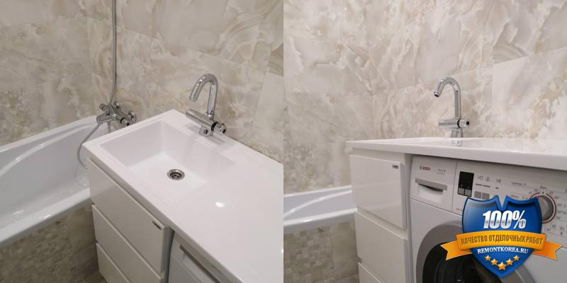 Маленькая ванная комната делаем ремонт