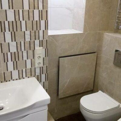 Ремонт маленькой ванной комнаты в квартире