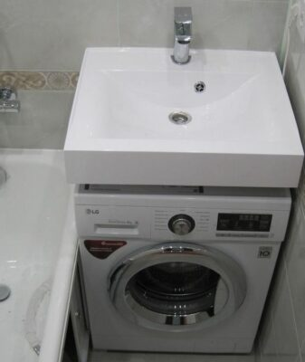 Маленькая раковина для ванной комнаты