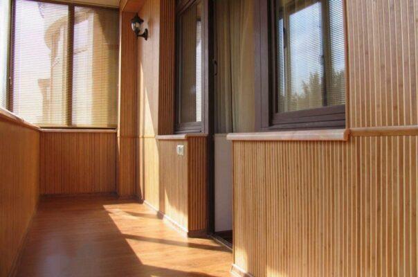 Бамбуковые обои для балкона и лоджии