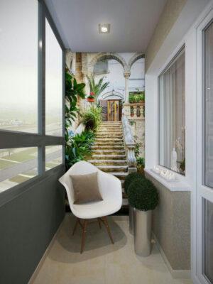 Фотообои для балкона
