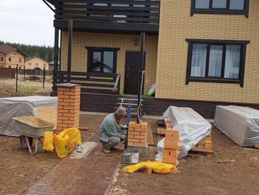 Строительство коттеджа из керамических блоков под ключ
