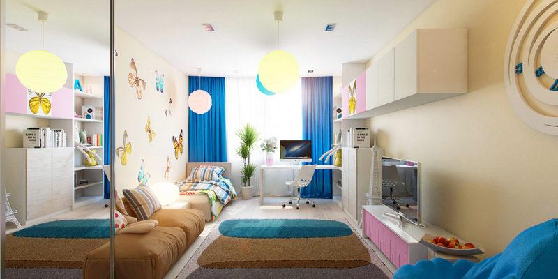 Правильный выбор расположения детской комнаты