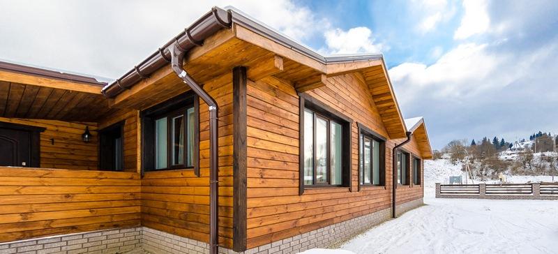Облицовка фасада деревянных домов во Владивостоке!