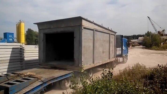 Строительство гаражей из бетона